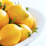 Lemons used for natural cleaning